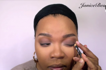 Janice beauty smoky eye